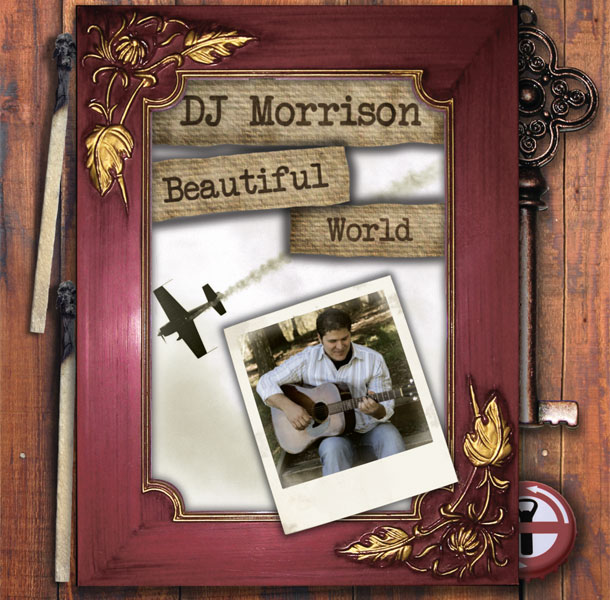 DJ Morrison Beautiful World CD Package Cover