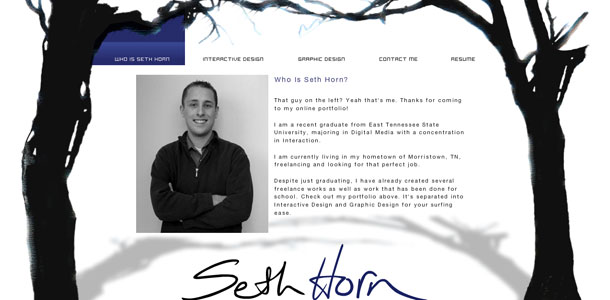 Seth Horn 2008 Home Page