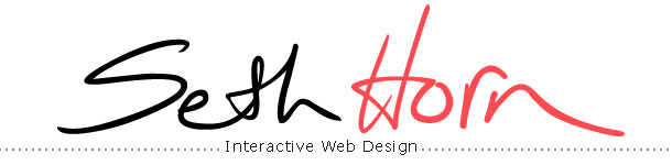 Seth Horn Interactive Web Design