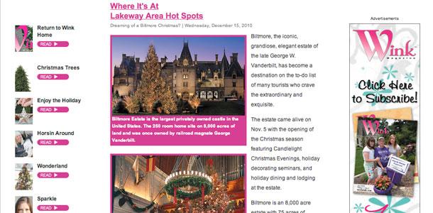 Wink Magazine Hot Spots