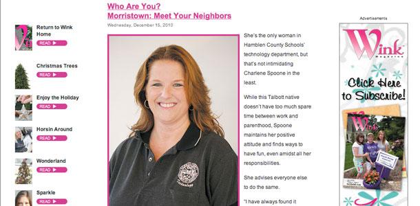 Wink Magazine Neighbors