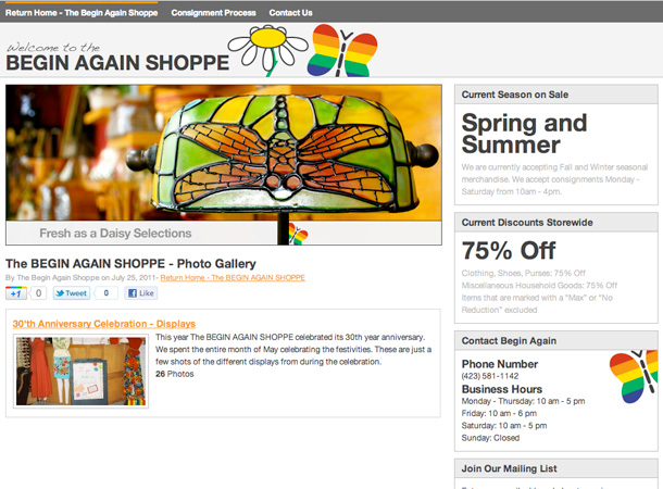 The BEGIN AGAIN SHOPPE v2.0 - Image 3